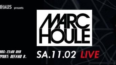 Ohrakel & Treibhaus presents: Marc Houle M-nus