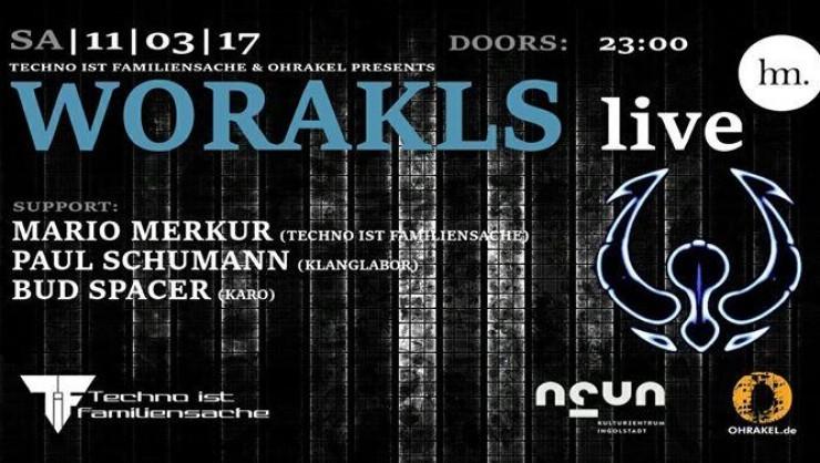 Ohrakel & TiF presents: Worakls live